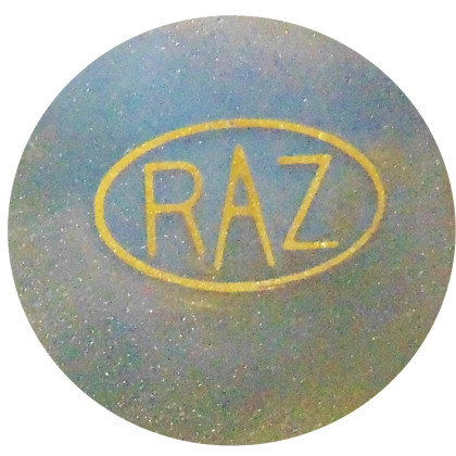 Raz Ashton Metal Sculpture-Stamp