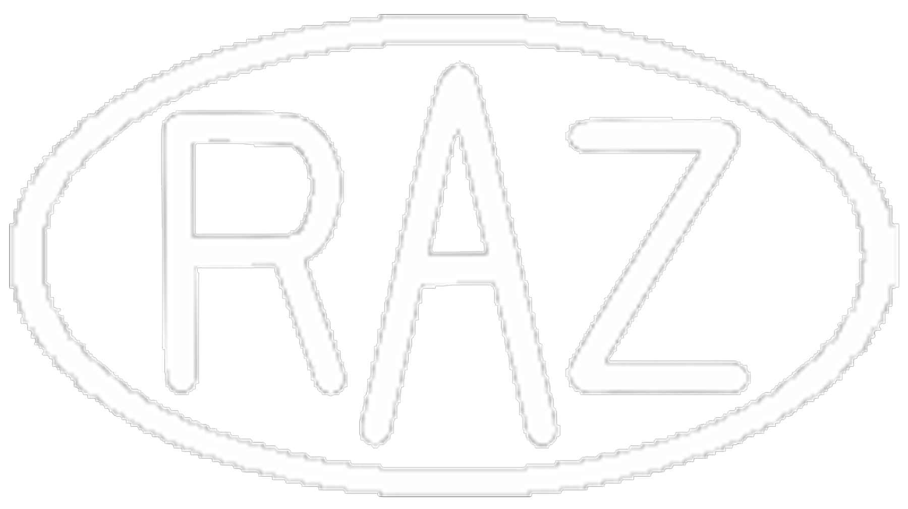 RAZ ASHTON Metal Sculpture Logo